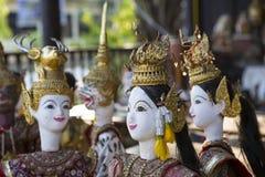 Thailändisches statuarisches Lizenzfreie Stockbilder