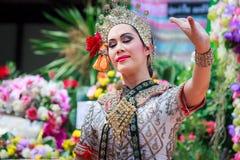 Thailändisches Tanzenbegräbnis Stockbilder