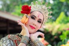 Thailändisches Tanzenbegräbnis Stockfotografie
