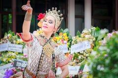 Thailändisches Tanzenbegräbnis Lizenzfreie Stockbilder