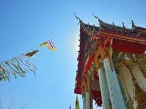 Thailändisches Tempelfestival Lizenzfreie Stockfotos