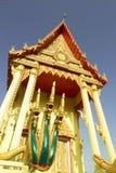 Thailändisches Tempelkunstdetail Lizenzfreies Stockbild