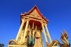 Thailändisches Tempelkunstdetail Stockbild
