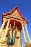 Thailändisches Tempelkunstdetail Stockfoto