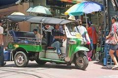 Thailändisches touk touk Stockfotografie