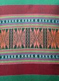 Thailändisches traditionelles Muster im an Kissenhandwerk Lizenzfreies Stockbild