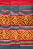 Thailändisches traditionelles Muster im an Kissenhandwerk Lizenzfreie Stockfotografie