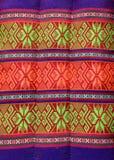 Thailändisches traditionelles Muster im an Kissenhandwerk Stockfotos