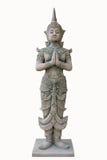 Thailändsk ängel i thailändsk tempel Royaltyfri Bild