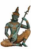 Thailändsk ängelstaty Arkivbild