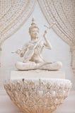 Thailändsk ängelstaty Fotografering för Bildbyråer