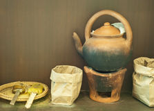 Thailändsk ört, alternativ medicinsk sytem Arkivbilder