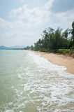Thailändsk östrand Royaltyfria Foton