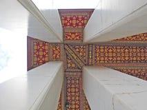 Thailändsk arkitektonisk prydnad Arkivbilder