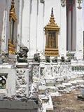 Thailändsk arkitekturbeståndsdel Arkivfoto