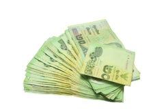 Thailändsk baht för pengar 20 Fotografering för Bildbyråer