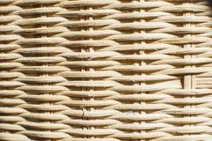 Thailändsk bambuhandworkplatta Royaltyfria Foton