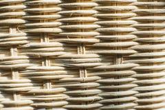 Thailändsk bambuhandworkplatta Royaltyfria Bilder