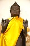 Thailändsk bild för staty av Buddha på Phra Pathom Chedi Arkivbilder