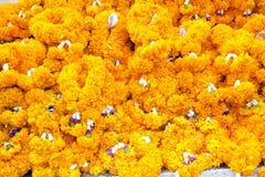 Thailändsk blomma för treditionalstilgirland Fotografering för Bildbyråer