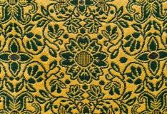 Thailändsk bomullstextur Arkivbild
