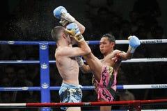 Thailändsk boxning Fotografering för Bildbyråer