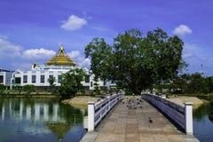 Thailändsk bro Fotografering för Bildbyråer