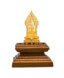 Thailändsk buddha bild som används som amuletter, staty av Buddha Fotografering för Bildbyråer