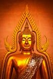 Thailändsk Buddha i färg Fotografering för Bildbyråer