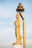 Thailändsk Buddha i tempel Fotografering för Bildbyråer
