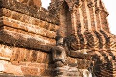 Thailändsk Buddha Staute Arkivbilder