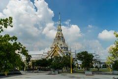 Thailändsk buddha tempel Royaltyfria Foton