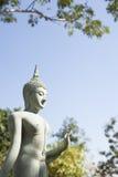 Thailändsk buddismstatystil Arkivbilder
