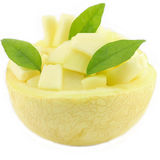 Thailändsk cantaloupmelon, bra smak för efterrätter Royaltyfri Bild