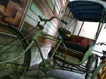 Thailändsk cirkuleringsrickshaw Fotografering för Bildbyråer