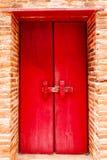 Thailändsk dörrkonstarkitektur Royaltyfri Foto