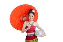Thailändsk dräkt Arkivfoto