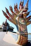 Thailändsk drake eller konung av Naga Royaltyfri Foto