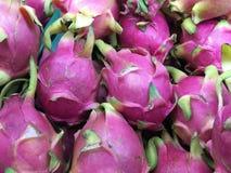 Thailändsk drakefrukt Fotografering för Bildbyråer