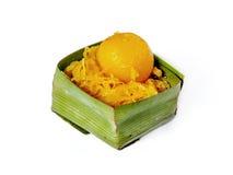 Thailändsk efterrätt den söta maten från Thailand Arkivbilder