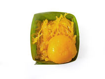 Thailändsk efterrätt den söta maten från Thailand Royaltyfria Foton