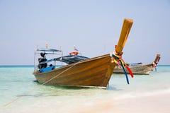 Thailändsk fartygkryssning på havskusten, Thailand Arkivfoton