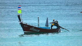 Thailändsk fisher lager videofilmer