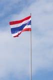 Thailändsk flagga Fotografering för Bildbyråer