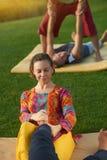 Thailändsk fot massage Arkivfoton