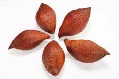 Thailändsk frukt (Sala eller Zalacca undslipper), Arkivfoton