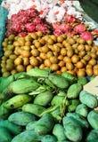 Thailändsk fruktmarknad Royaltyfri Foto