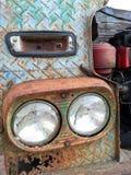 Thailändsk gammal lastbil Arkivbild