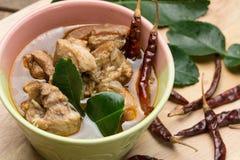Thailändsk grisköttbensoppa Royaltyfri Fotografi