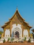 Thailändsk härlig tempel Arkivfoto
